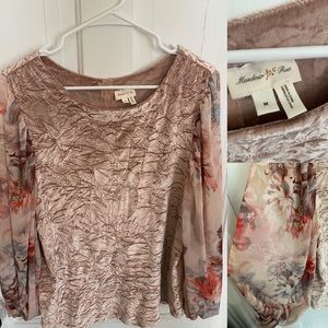 Meadow Rue (Anthropologie) size medium blouse
